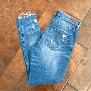 Blank NYC Skinny Classique Distressed Jeans 27
